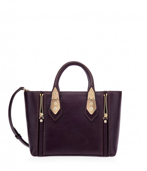 Henri Bendel A-List Mini Embossed Satchel