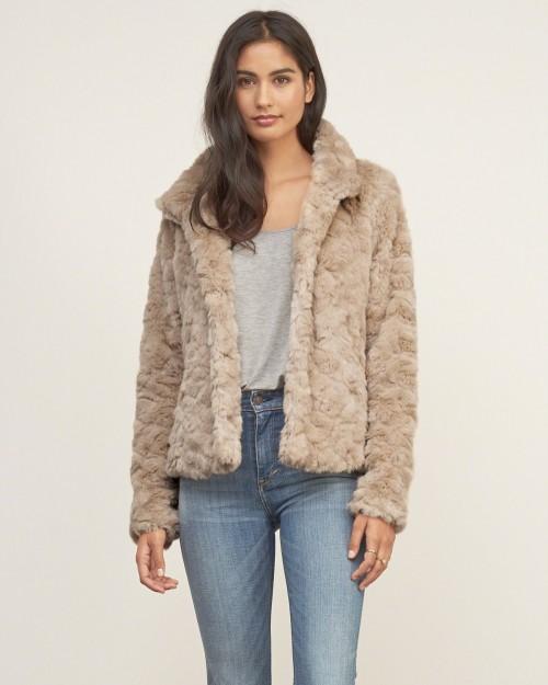 A&F Faux Fur Jacket