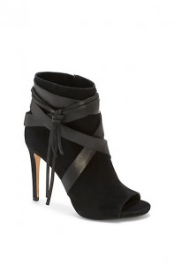 Vince Camuto Flista-Strappy Leather High Heel Bootie