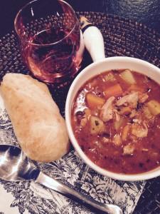 Rainy Day Chicken Stew