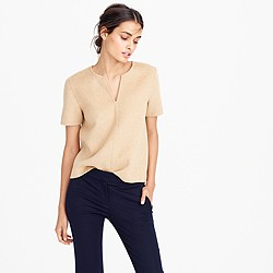 JCrew Cashmere Tan Top