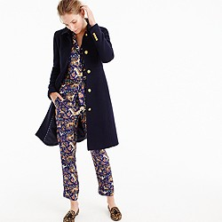 JCrew Navy Topcoat