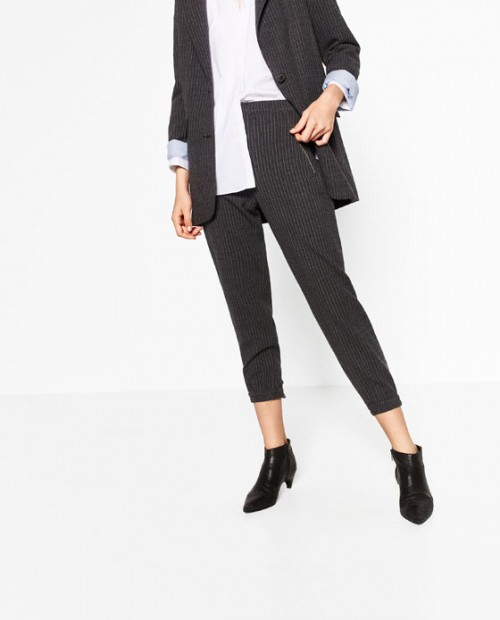 Zara pin stripe trouser
