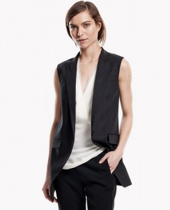 Fall Trend Sleeveless Long Vest