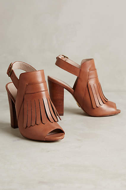 Anthropologie Elyse Kiltie Heels