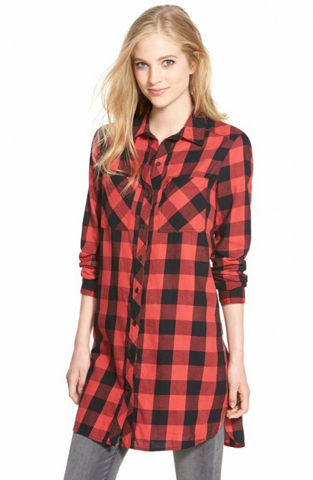 Caslon Two-Pocket Tunic Shirt