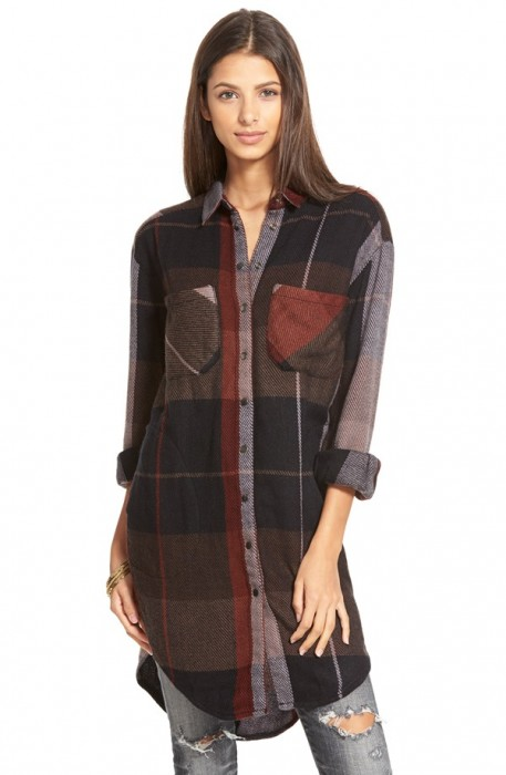 Free People 'Street Talk' Plaid Shirt