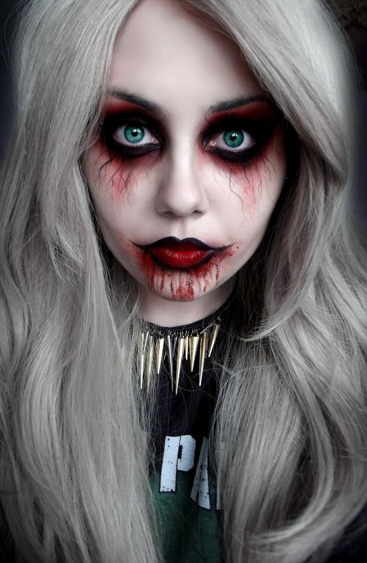 halloween makeup - cynthia hudson style