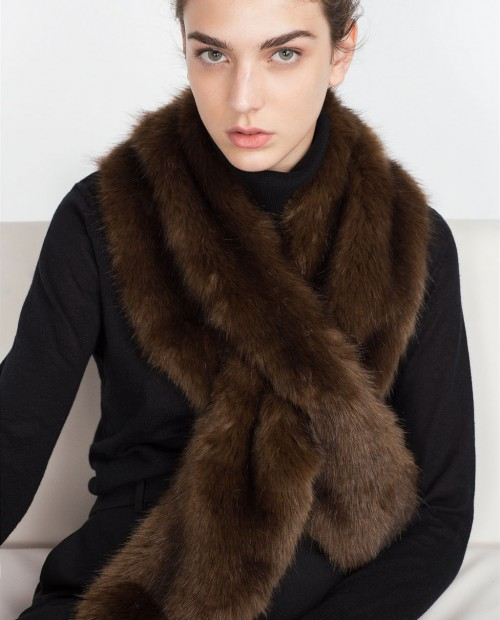 Zara Soft Furry Stole