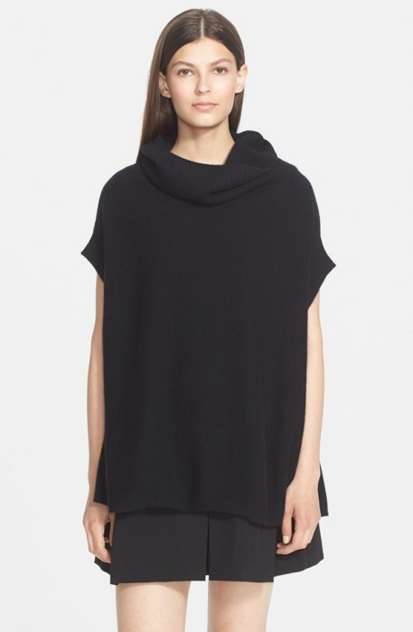Vince Short Sleeve Turtleneck Sweater