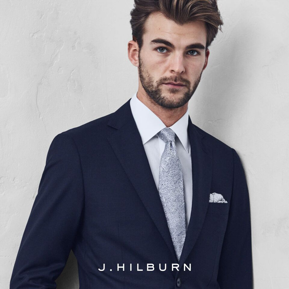 Featuring J.Hilburn Custom Menswear and HonourMark Menswear